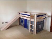Thuka Castle mid-sleeper bed and wardrobe