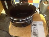 Crock pot slow cooker 3.5L excellent working order