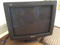 "CRT Philips monitor 17"" retro dreamcast"