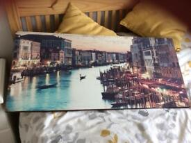Venice Canvas Large 39 x 18 inches