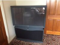 "47"" Philips Rear Projection TV"