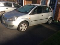 Ford Fiesta 1.3L, 2002, very low mileage, good runner.