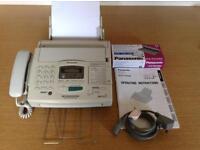 Fax Machine Panasonic KX-F 1830E