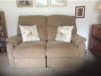 2x2 seater sofas and armchair in very good condition. All with recliners