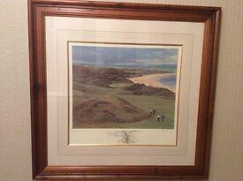 Ballybunion Golf Club. (Old). Limited Edition Print. ( 11th Hole ).