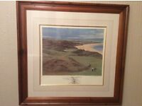 Ballybunion Golf Club. (Old). Limited Edition Print. ( 11th Hole ).