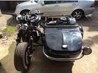 Suzuki Bandit & Watsonian Sidecar