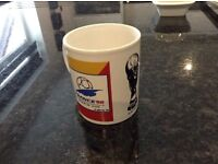 1998 World Cup mug with original stickers