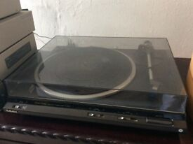 . Technics DD33 turntable . . No offers .
