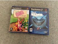 PlayStation 2 (Finding Nemo & Piglet's BIG GAME)