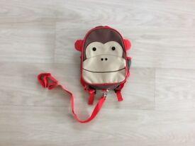 Skip Hop Zoolet Monkey Toddler Backpack (new)
