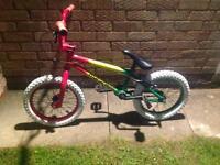 Mafia bikes child's bmx excellent condition