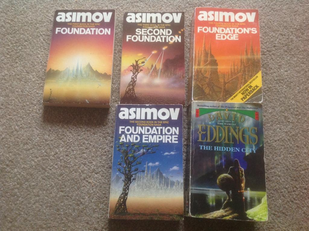Asimov science fiction books