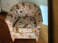 Tub Chair, collection only from BS30