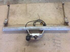 Tow Bar for a van