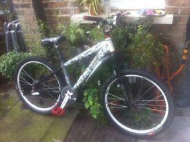 24Seven custom pro mountain bike bicycle 24 seven for sale. BARGAIN CUSTOM BIKE GREAT FOR SUMMER