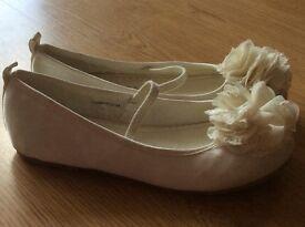 Ivory shoes size 2
