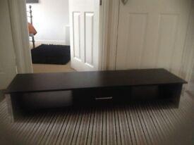 Black. TV & Dvd stand/cabinet