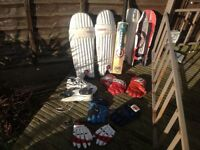 Cricket Equipment and Clothes