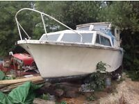Seamaster 25ft project boat