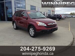 2007 Honda CR-V EX-L. Local trade, One owner, Ready for a new h