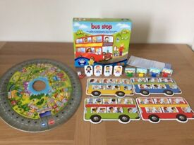 Orchard Toys Fun Learning Games - 2 games, age 4+, nearly new condition