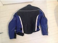 Motorbike leather jacket size 42