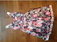 Zeila collection floral dress mother of the bride size 12 worn once excellent condition Rrp £450