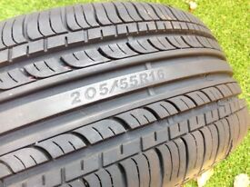 WHEEL , TYRE AND JACK SET 205 55 R 16