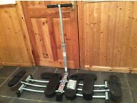 Leg Master Exercise Machine Hardly Used RRP £60 Get Fit For 2017 Christmas Gift Make An Offer!