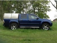 Isuzu rodeo 2.5l diesel 4x4