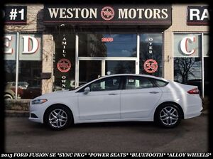 2013 Ford Fusion SE *SYNC PKG *POWER SEATS *BLUETOOTH *ALLOY WHE