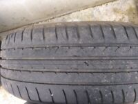 Set of mk5 alloys and tyres