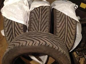 4 pneus neufs 205/55 r16 techno extrême sport d'été.  300$