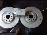 Audi s3 genuine Audi front discs and pads