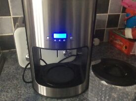 Tesco stainless steel electric filter coffee maker machine