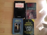 Various Core English Law Textbooks