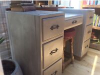 Art Deco dresser painted in French Linen