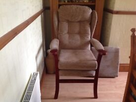 Chair suitable for people with disability or as extra seating