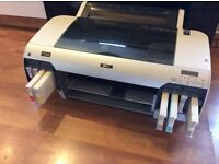 Epson stylus pro 4880 printer with cartridges