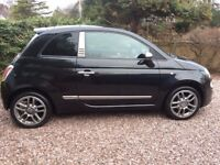 Black Fiat 500 * Special Edition* FULL MOT, New brakes (Petrol Engine)