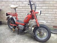 1977 Classic garelli katia 50cc moped like monkeybike