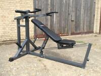 Bodymax CF666 Leverage Bench/Shoulder Press Machine (Delivery Available)