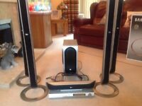 LG Surround Sound System and DVD Player