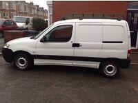 Citroen Berlingo Enterprise 1.6HDI van with long MOT,s and crucial side door and roof rack
