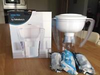 Water softener jug