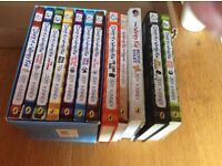 Diary of a wimpy kid book and dvd collection