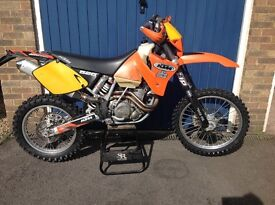 KTM 520 EXC, 2002 model in excellent condition, part exchange possible