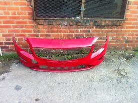 Mercedes w176 front Bumper red or white 2012-2015