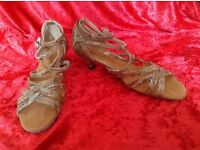 Dance shoes new size 4